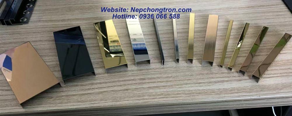 Các quy cách phổ biến của nẹp trang trí chữ U hợp kim nhôm và inox 304